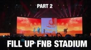 Video: Cassper Nyovest - Fill Up FNB Stadium   Part 2